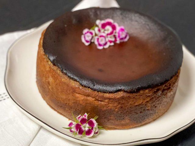 San Sebastian Schoko Cheesecake / Burned Cake