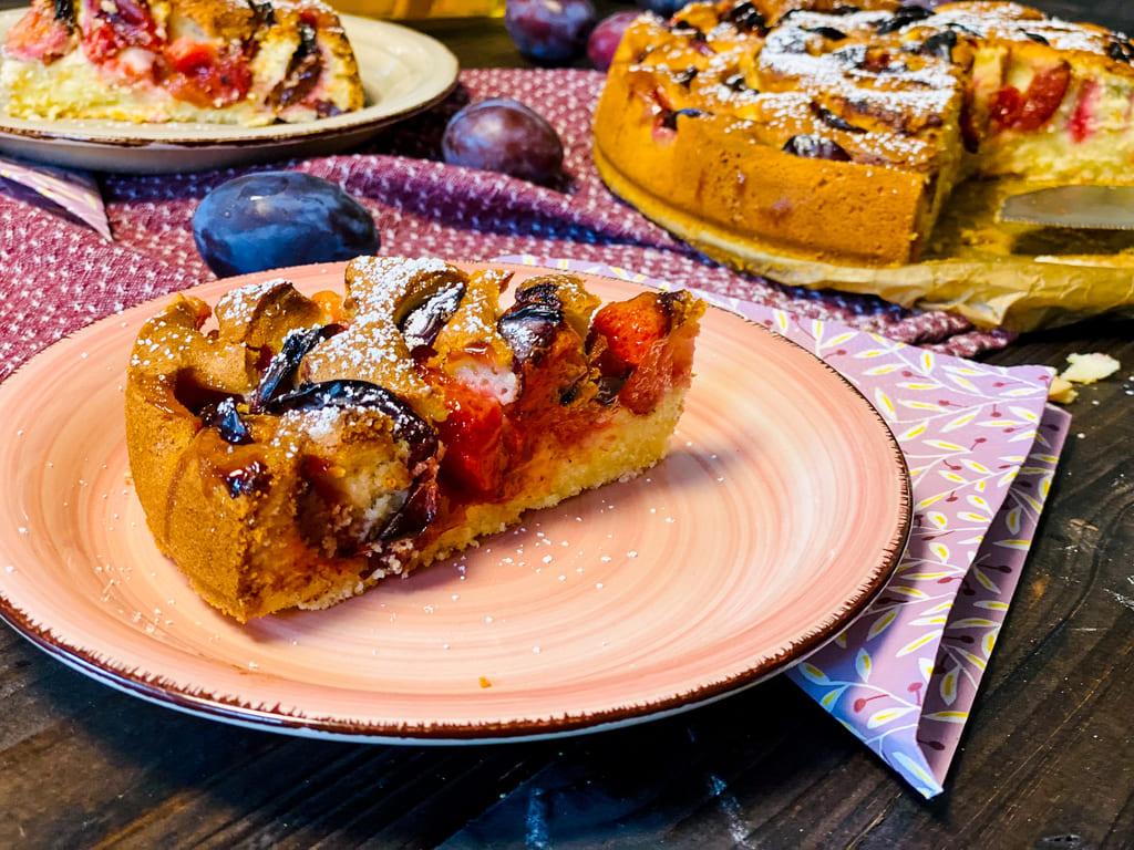 Zwetschgen - Eierlikör - Kuchen