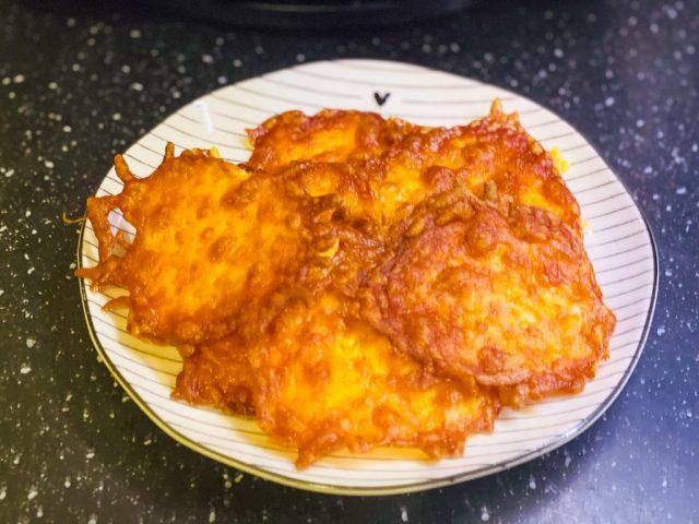 Käse Cracker – Rezept für den Deluxe Air Fryer –