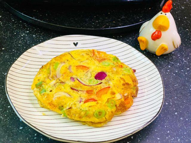 Omelette Deluxe – Rezept für den Deluxe Air Fryer –