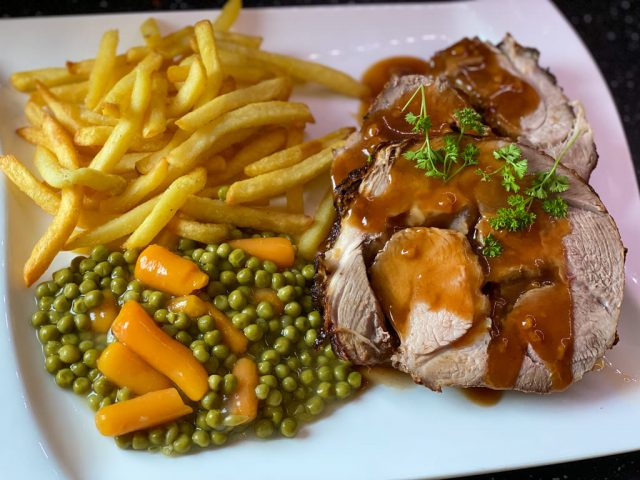 Spiessbraten – Rezept für den Deluxe Air Fryer –