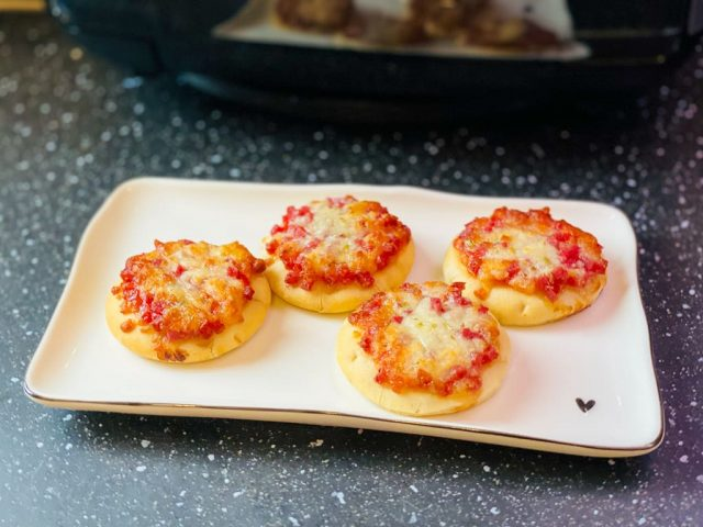 TK Piccolinis Pizza – Rezept für den Deluxe Air Fryer –