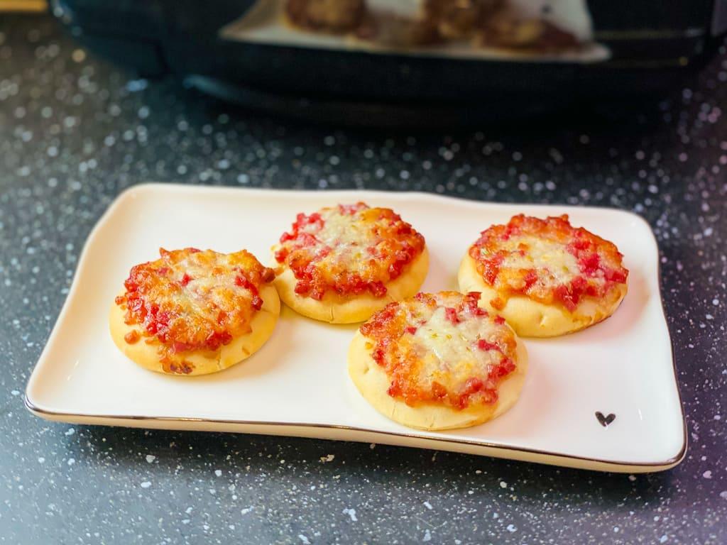 TK Piccolinis Pizza - Rezept für den Deluxe Air Fryer -