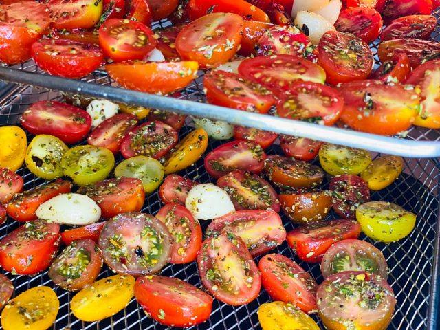 Tomaten Antipasti - Rezept für den Deluxe Air Fryer -