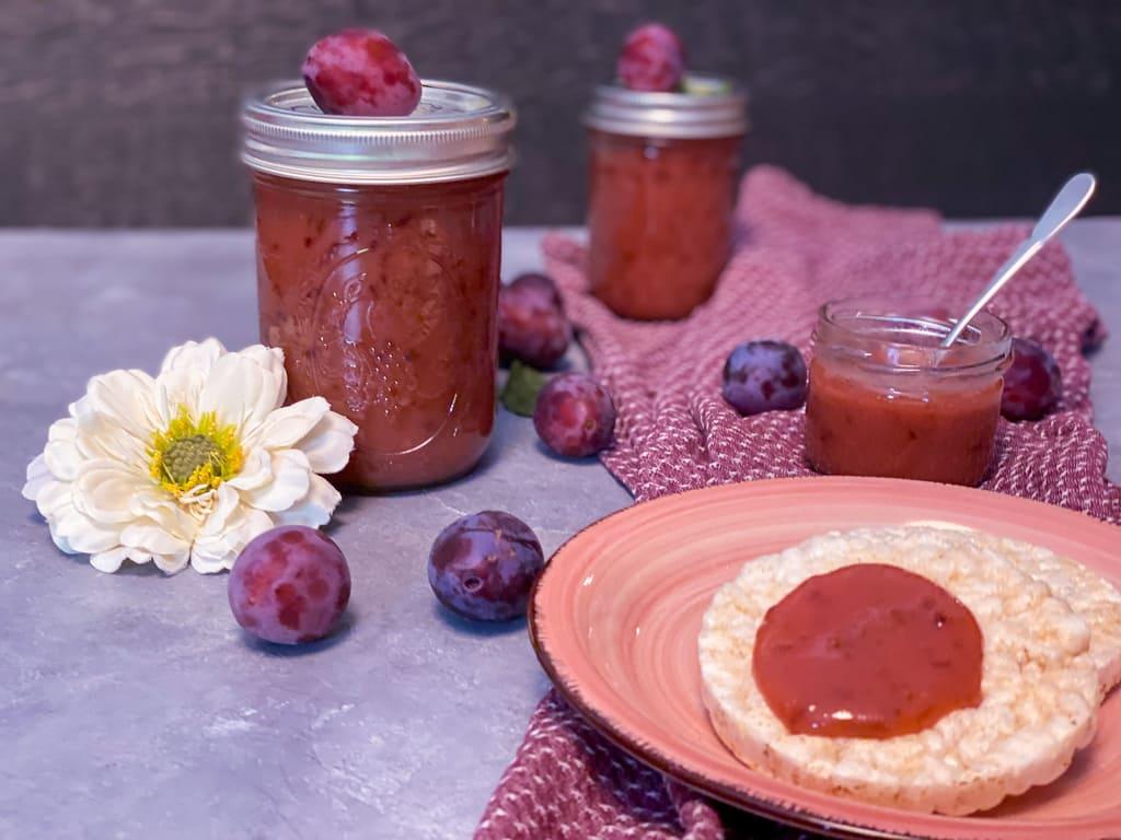 Zwetschgen - Marzipan - Marmelade