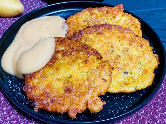 Knusprige Kartoffelpuffer / Reibekuchen