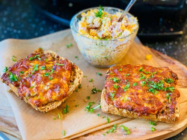 Überbackenes Gourmet-Brot – Aus dem Deluxe Air Fryer –